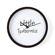 Little Taxidermist Wall Clock