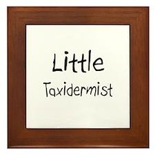 Little Taxidermist Framed Tile
