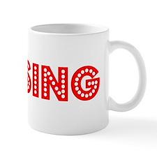 Retro Lansing (Red) Mug