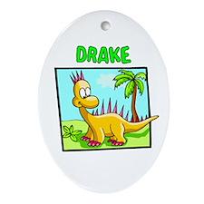 Drake Dinosaur Oval Ornament