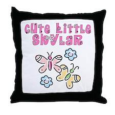 Cute Little Skylar Throw Pillow
