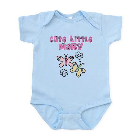 Cute Little Mary Infant Bodysuit