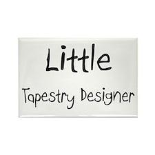 Little Tapestry Designer Rectangle Magnet