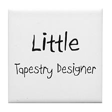 Little Tapestry Designer Tile Coaster