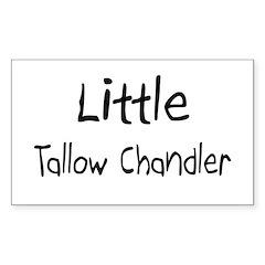 Little Tallow Chandler Rectangle Decal