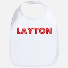 Retro Layton (Red) Bib