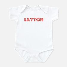 Retro Layton (Red) Infant Bodysuit