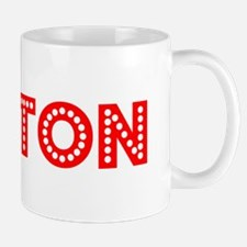 Retro Layton (Red) Mug