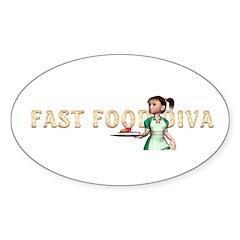 Food Diva Decal