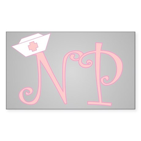 NP Rectangle Sticker