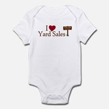 I Love Yard Sales Infant Bodysuit