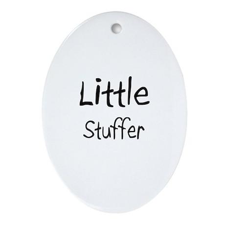 Little Stuffer Oval Ornament