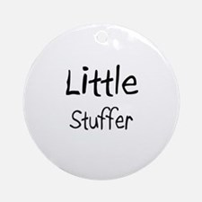 Little Stuffer Ornament (Round)