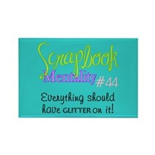 Scrapbook Mentality #44 Rectangle Magnet