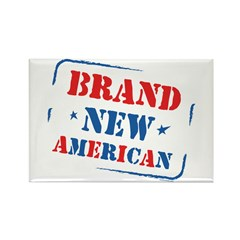 Brand New American Rectangle Magnet (10 pack)