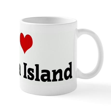 I Love Serena Island Mug
