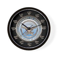 D.O.D. Emblem Wall Clock