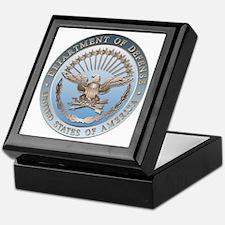 D.O.D. Emblem Keepsake Box
