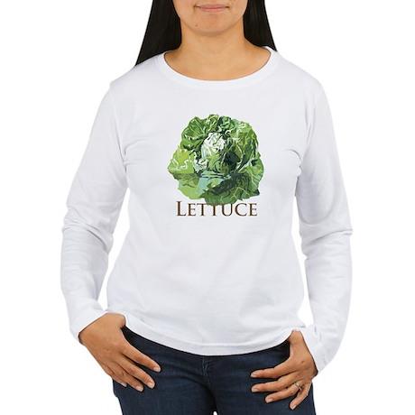 Leafy Lettuce Women's Long Sleeve T-Shirt