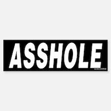 Asshole Prank or Revenge Bumper Bumper Sticker Bumper Bumper Bumper Sticker