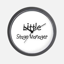 Little Stage Manager Wall Clock