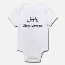 Little Stage Manager Infant Bodysuit