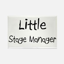 Little Stage Manager Rectangle Magnet