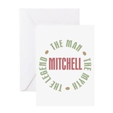 Mitchell Man Myth Legend Greeting Card