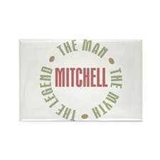 Mitchell Man Myth Legend Rectangle Magnet
