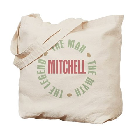 Mitchell Man Myth Legend Tote Bag