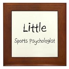Little Sports Psychologist Framed Tile