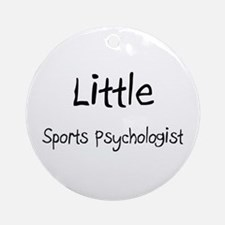 Little Sports Psychologist Ornament (Round)