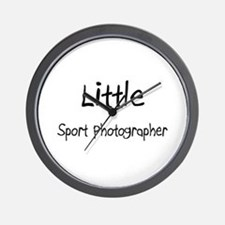 Little Sport Photographer Wall Clock