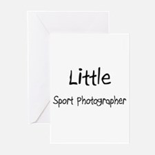 Little Sport Photographer Greeting Cards (Pk of 10