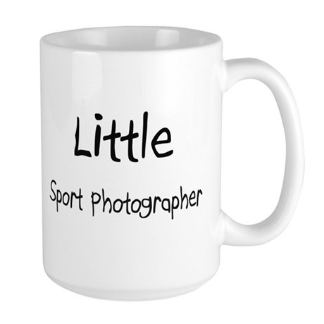 Little Sport Photographer Large Mug