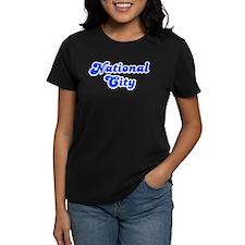 Retro National City (Blue) Tee