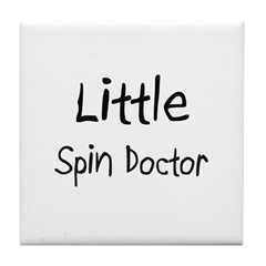 Little Spin Doctor Tile Coaster