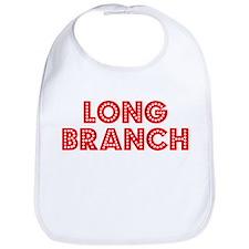 Retro Long Branch (Red) Bib