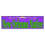 New Orleans Native Bumper Sticker (50 pk)