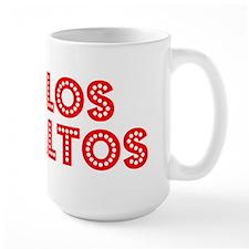 Retro Los Altos (Red) Mug