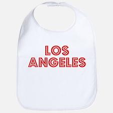 Retro Los Angeles (Red) Bib