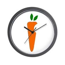 Carrot Wall Clock