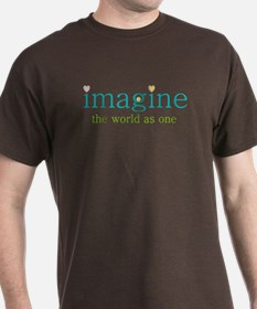 Imagine the World as One T-Shirt