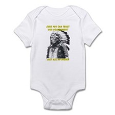 Trust government Infant Bodysuit