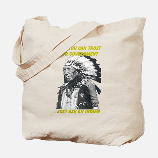 Trust government Tote Bag