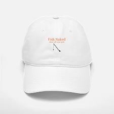 Fish Naked Baseball Baseball Cap
