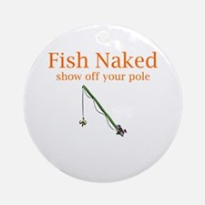 Fish Naked Ornament (Round)