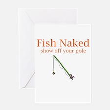 Fish Naked Greeting Card