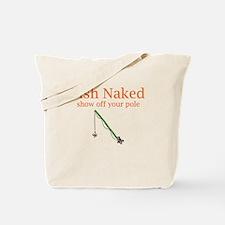Fish Naked Tote Bag