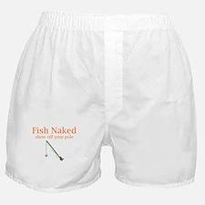 Fish Naked Boxer Shorts